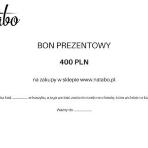 Bon prezentowy 400 zł