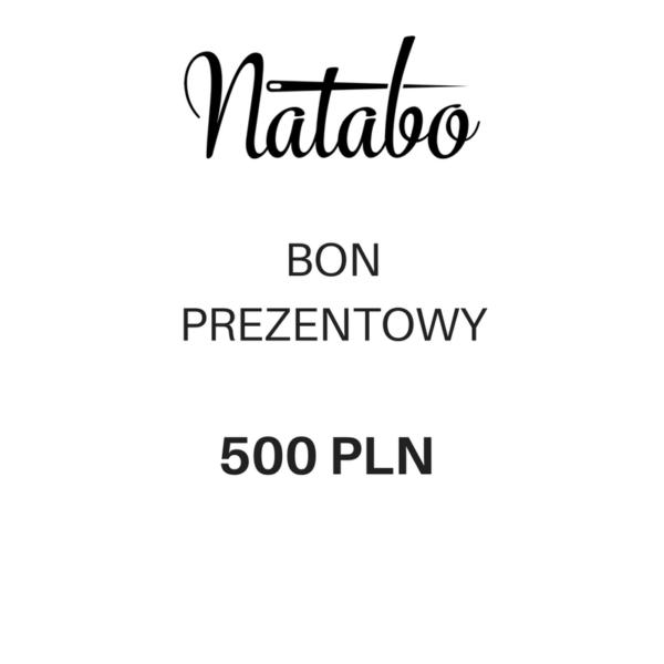 Bon prezentowy 500 zł