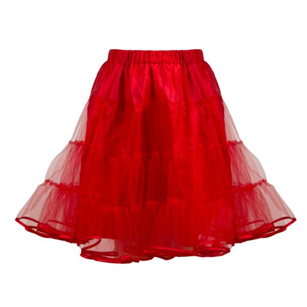 Halka tiulowa czerwona - na zamówienie