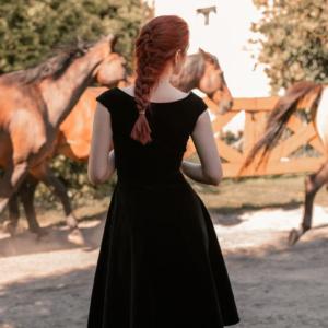 Sukienka Diantus czarna