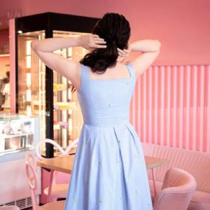 Sukienka Citrus na ramiączkach